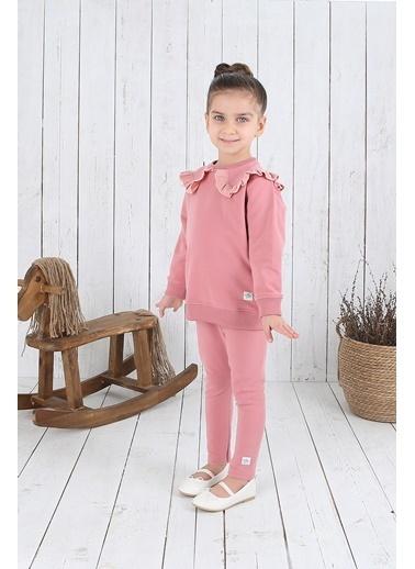 Nila Kids Pembe Rengi Organik Kız Bebek Tayt NK013000P (3 AY- 5 YAş) Pembe